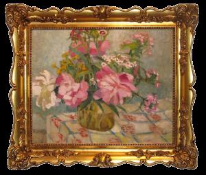 Misky Ludwik (1884 - 1938), Kwiaty w wazonie