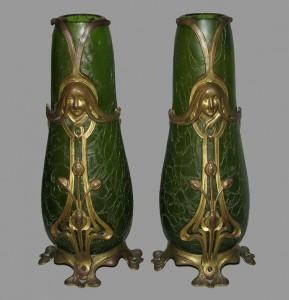Para wazonów Pallme König & Habel, ok. 1900