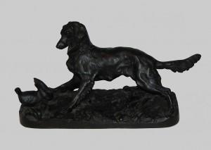 Pies myśliwski, Rosja, odlewnia Kasli, 1898