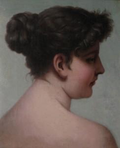 Malarz europejski 4 ćw. XIX w, Portret kobiety /REZERWACJA/