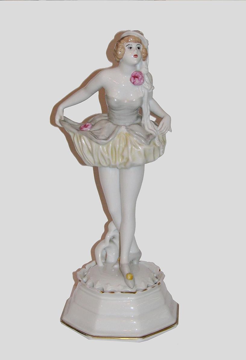 Figurka tancerki, Rosenthal, 1921-1922