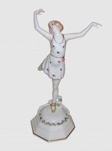 Figurka baletnicy, Rosenthal, wg. projektu Dorthea Charol, 1921-1922