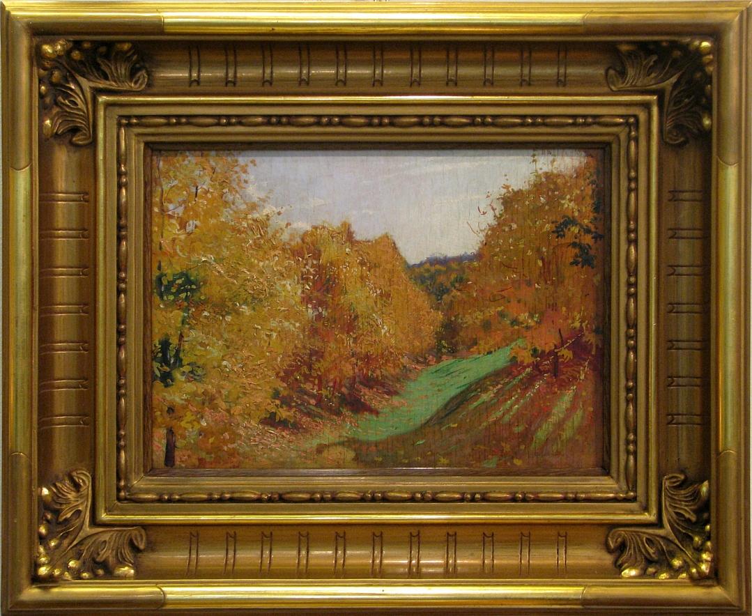 Wygrzywalski Feliks Michał (1875-1944), Pejzaż jesienny, 1914