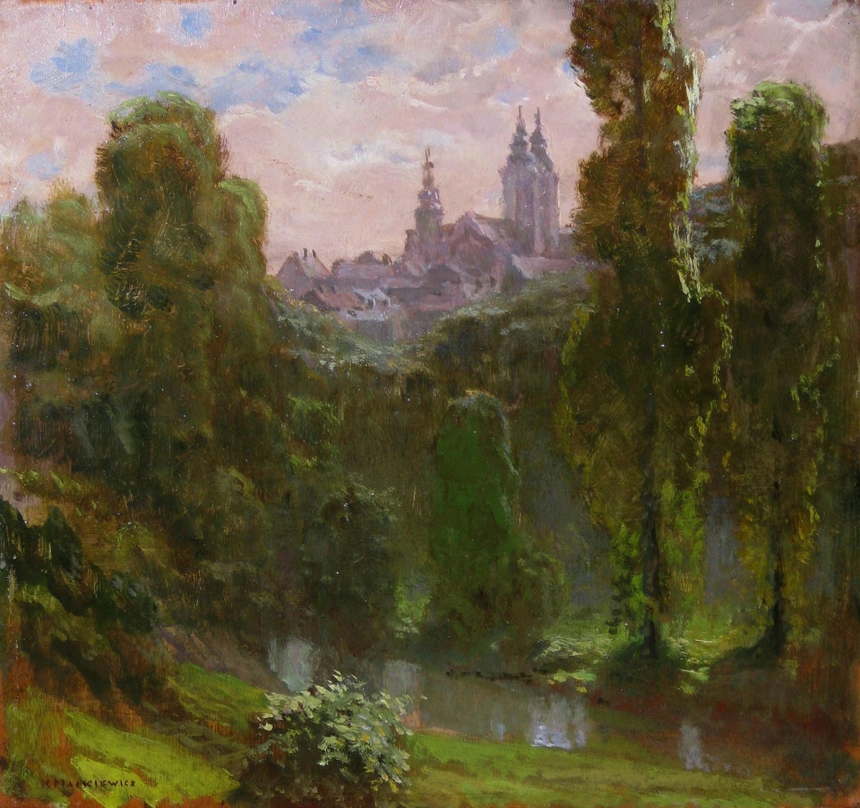Mackiewicz Konstanty (1894 - 1985), Pejzaż