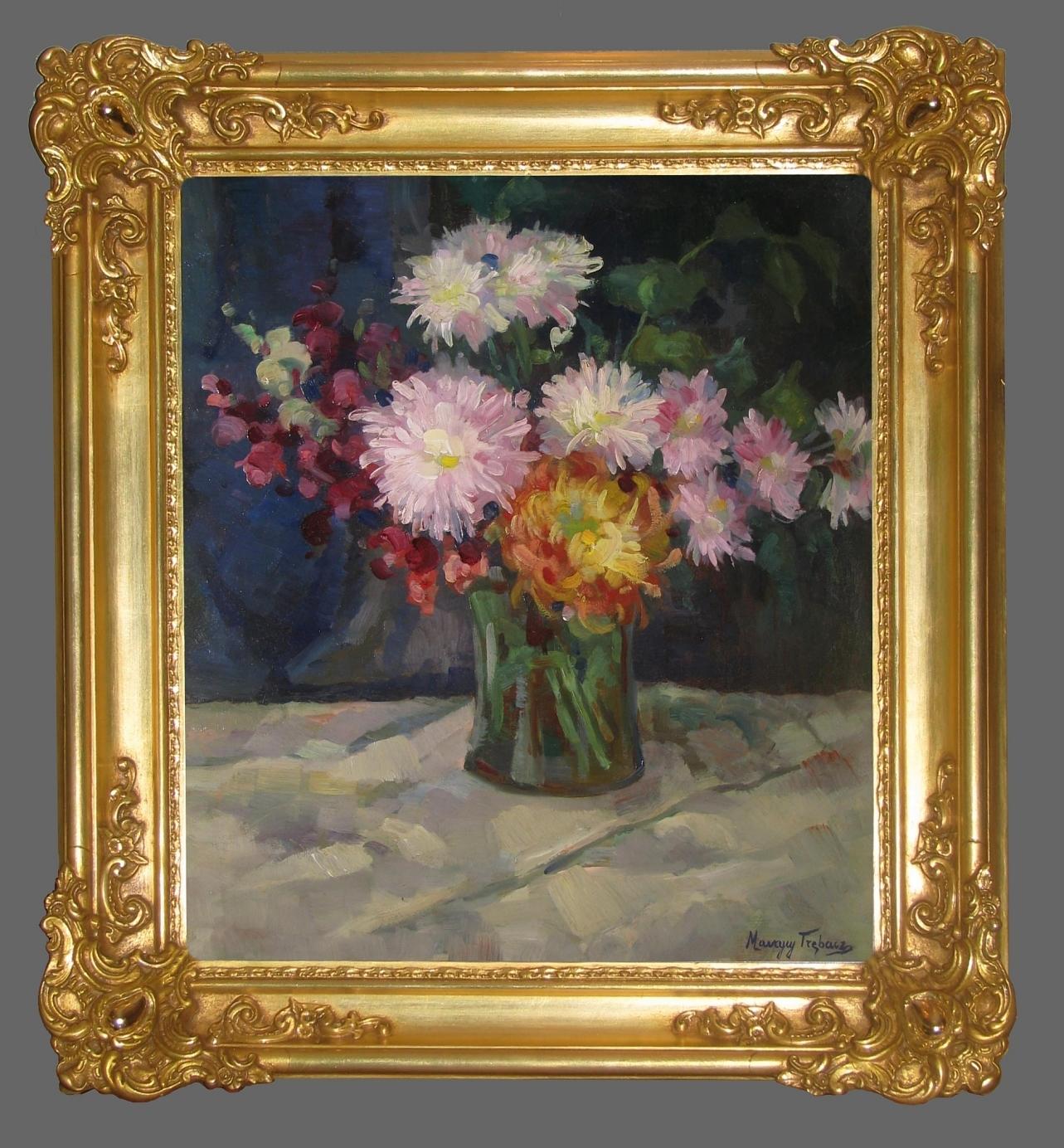 Trębacz Maurycy (1861-1941), Kwiaty w wazonie