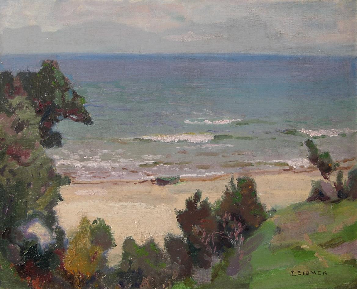 Ziomek Teodor (1874-1937), Pejzaż nadmorski