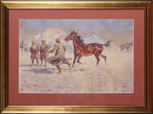 Szewczyk Feliks (1863-1932), Ujarzmianie konia