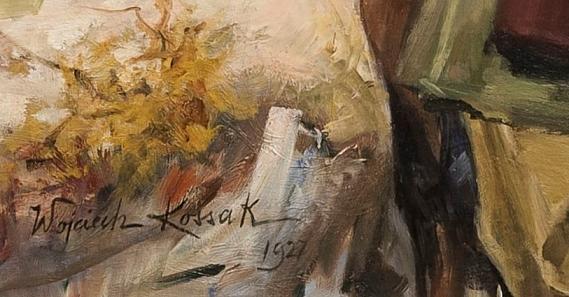 Kossak Wojciech (1856-1942) Ułan, 1927