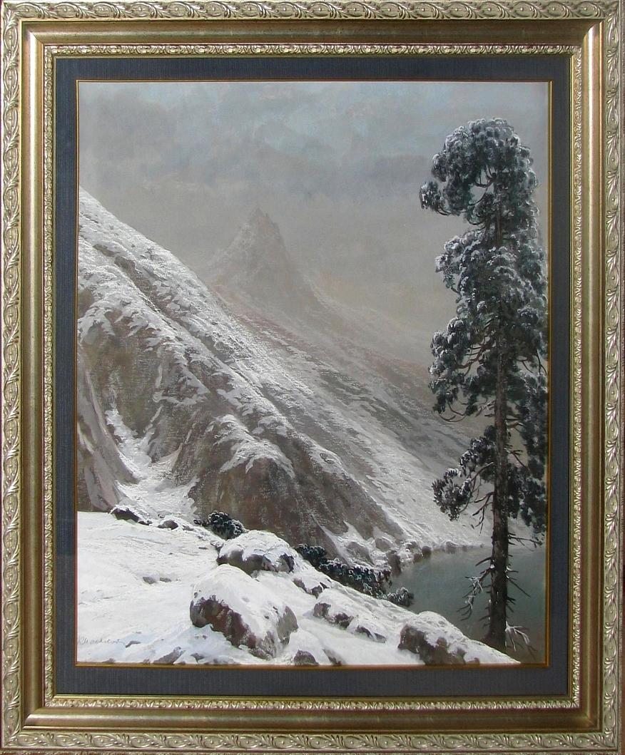 Mackiewicz Konstanty (1894 -1985), Pejzaż górski
