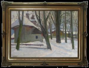 Kamocki Stanisław (1875 - 1944), Kościół Matki Bożej Częstochowskiej i Kaplica Gąsieniców św. Andrzeja i Benedykta w Zakopanem , 1932