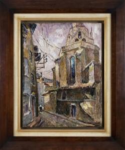Muter Mela (1876  - 1967), Pejzaż miejski z Bretanii