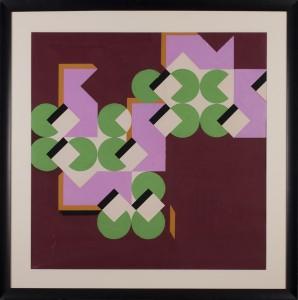 Gronowski Tadeusz (1894-1990),  Kompozycja geometryczna, lata 70-te.
