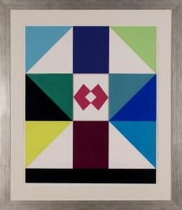 Gronowski Tadeusz (1894-1990),  Kompozycja geometryczna, lata 70-te