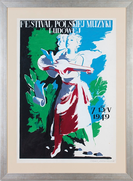 Gronowski Tadeusz (1894-1990), Festiwal Polskiej Muzyki Ludowej, 1948