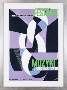 Gronowski Tadeusz (1894-1990), Międzynarodowy Festiwal Muzyki Współczesnej, 1959