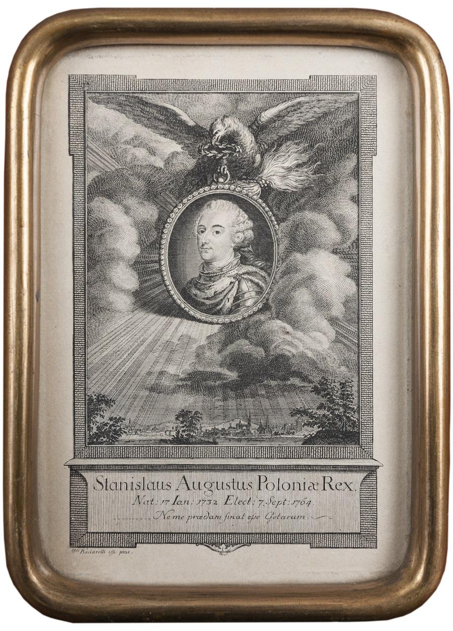 Antoine de Marcenay de (Demarcenay) Ghuy (1724-1811), Portret Stanisława Augusta