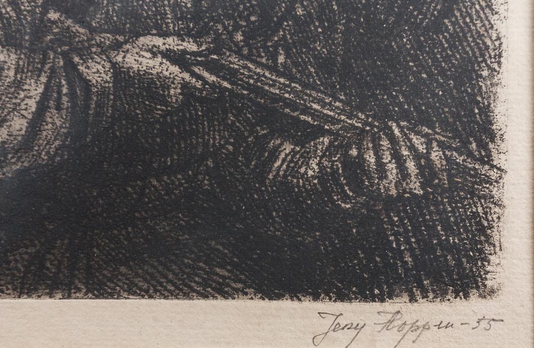Hoppen Jerzy (1891-1969), Czaty, 1955