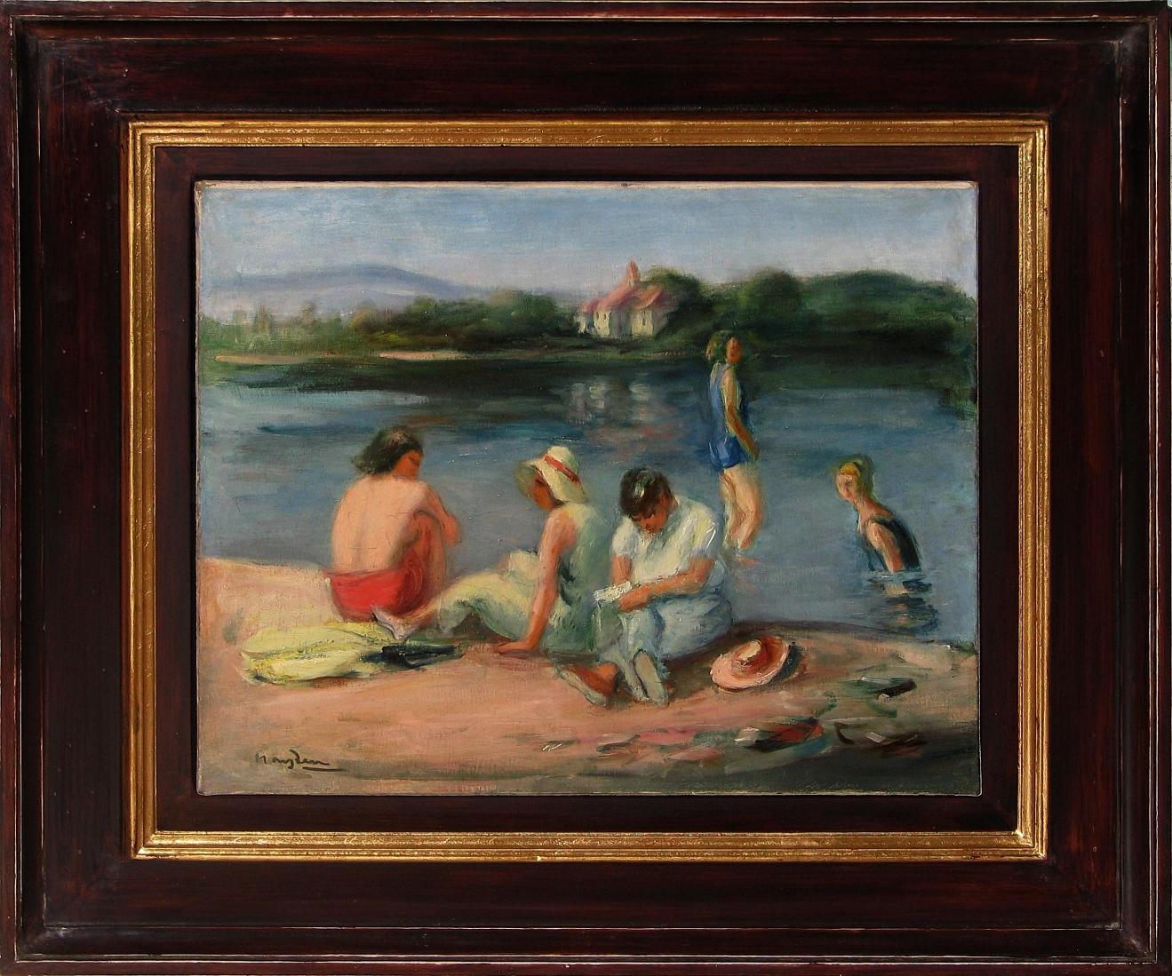 Hayden Henryk (1883-1970), Kąpiące się, lata 40-te XX wieku