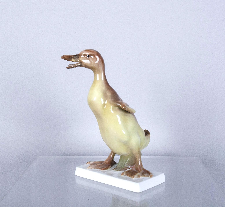 Figurka porcelanowa kaczuszki, Rosenthal, po 1957 roku