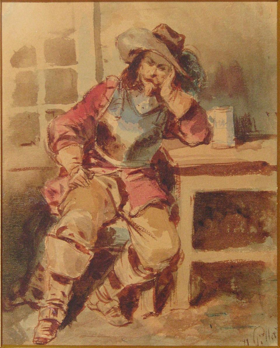 Pillati Henryk (1832-1894), Muszkieter