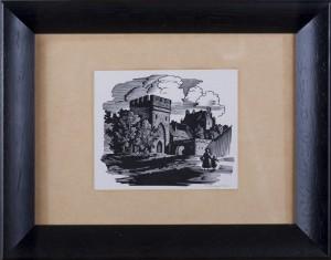 KUCZYŃSKI EDWARD (1905 - 1958), ZAMEK