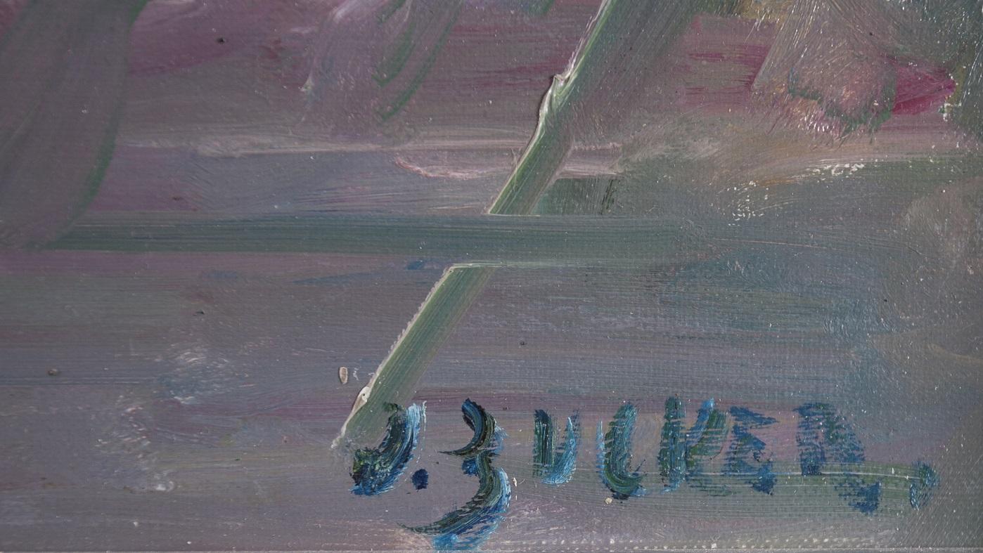 ZUCKER JACQUES (JAKUB CUKIER) (1900 - 1981), KOBIETA W KAWIARNI