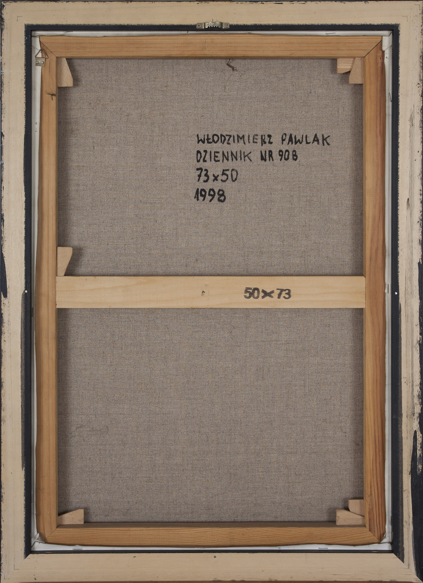 Pawlak Włodzimierz (ur. 1957) Dziennik 90B, 1998
