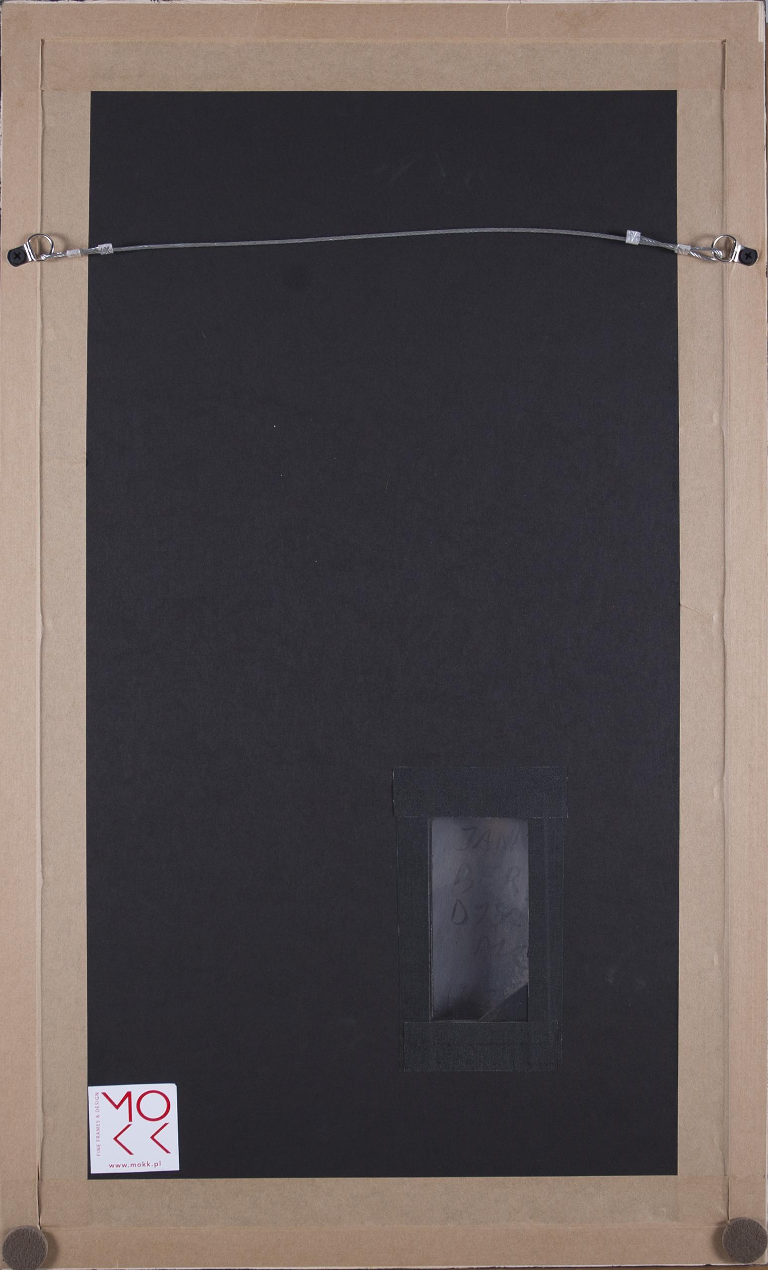 Berdyszak Jan (1934-2014), Kompozycja kół, 1962