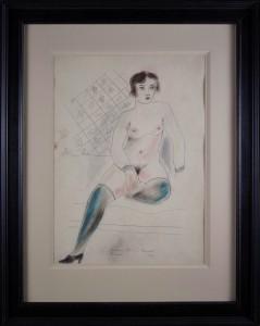 BRZESKI Maria Janusz (1907 - 1957), Akt, 1931