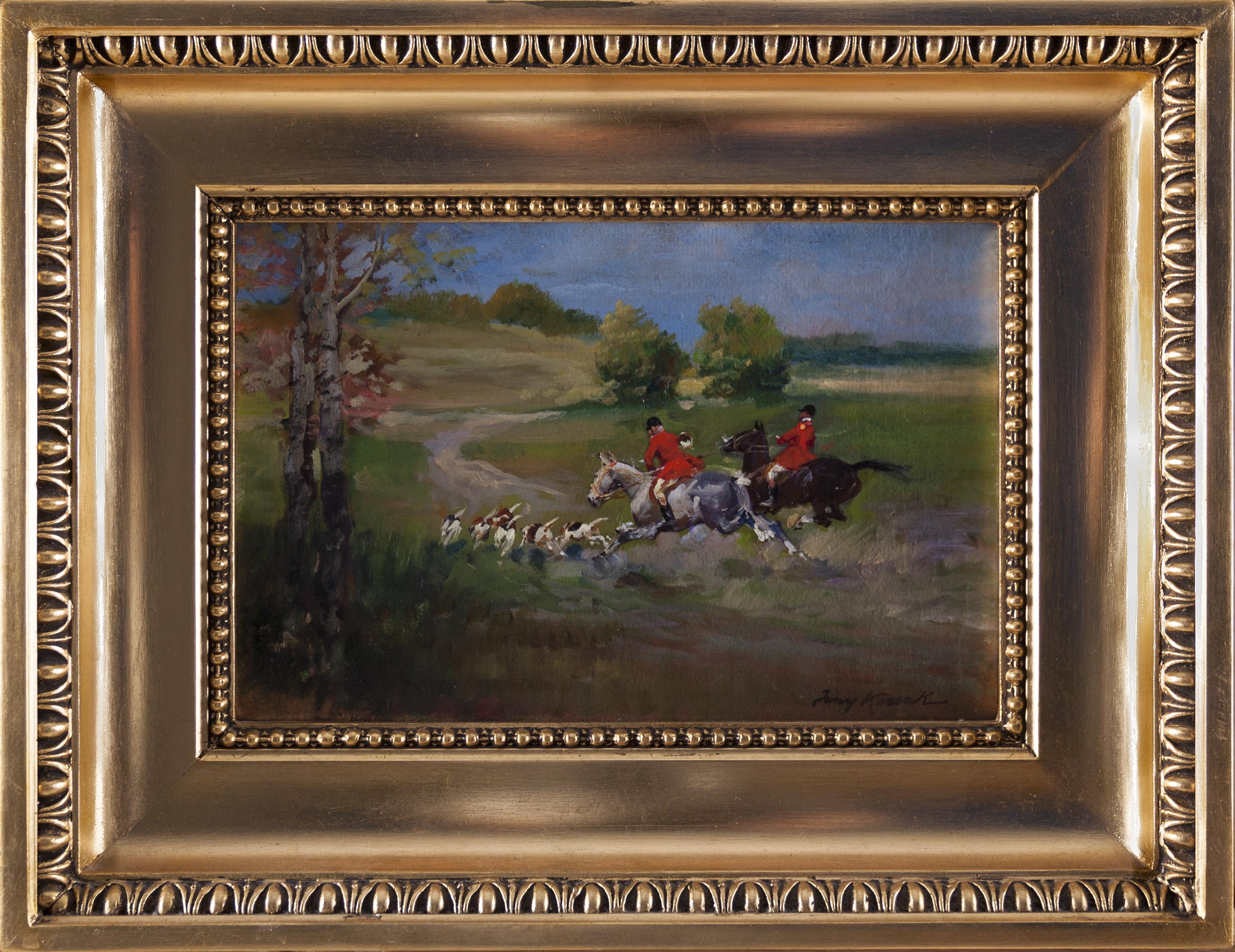 Kossak Jerzy (1886-1955), Polowanie par force