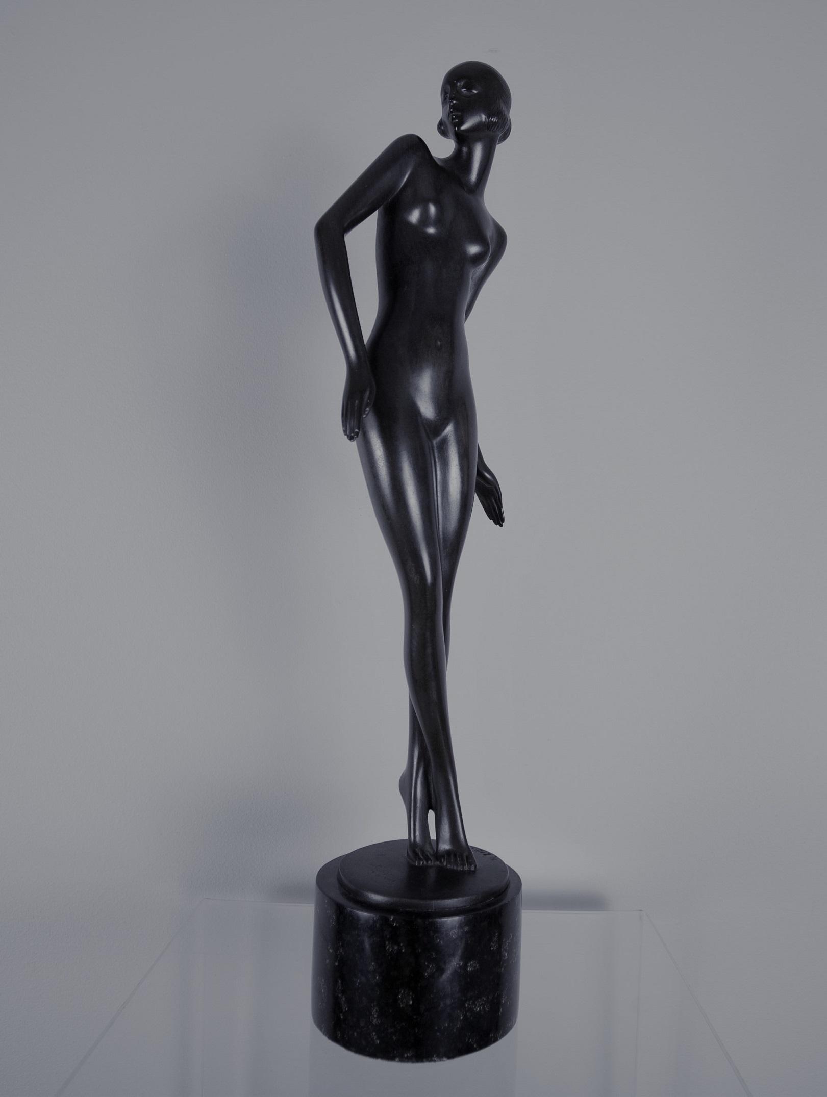 Ziesenis Rudolf  (1883-1940) Gracja, art deco.