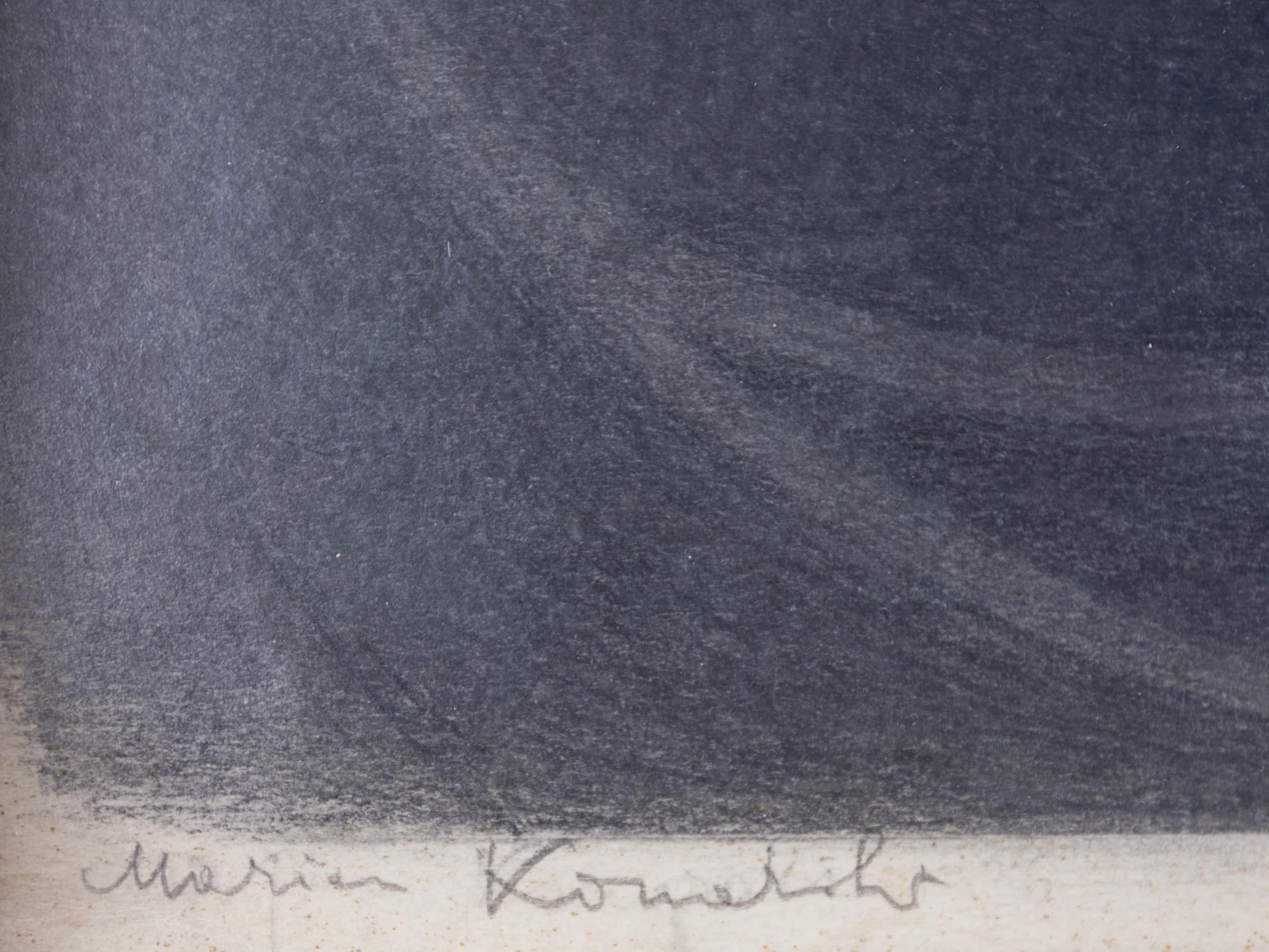 KONARSKI MARIAN (1909-1998), Powstanie pomysłu utworu lirycznego, 1930