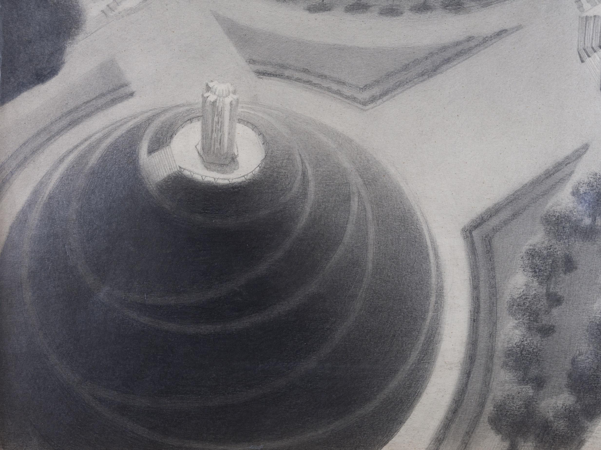 KONARSKI MARIAN (1909-1998), Sowiniec – widok z góry, 1936