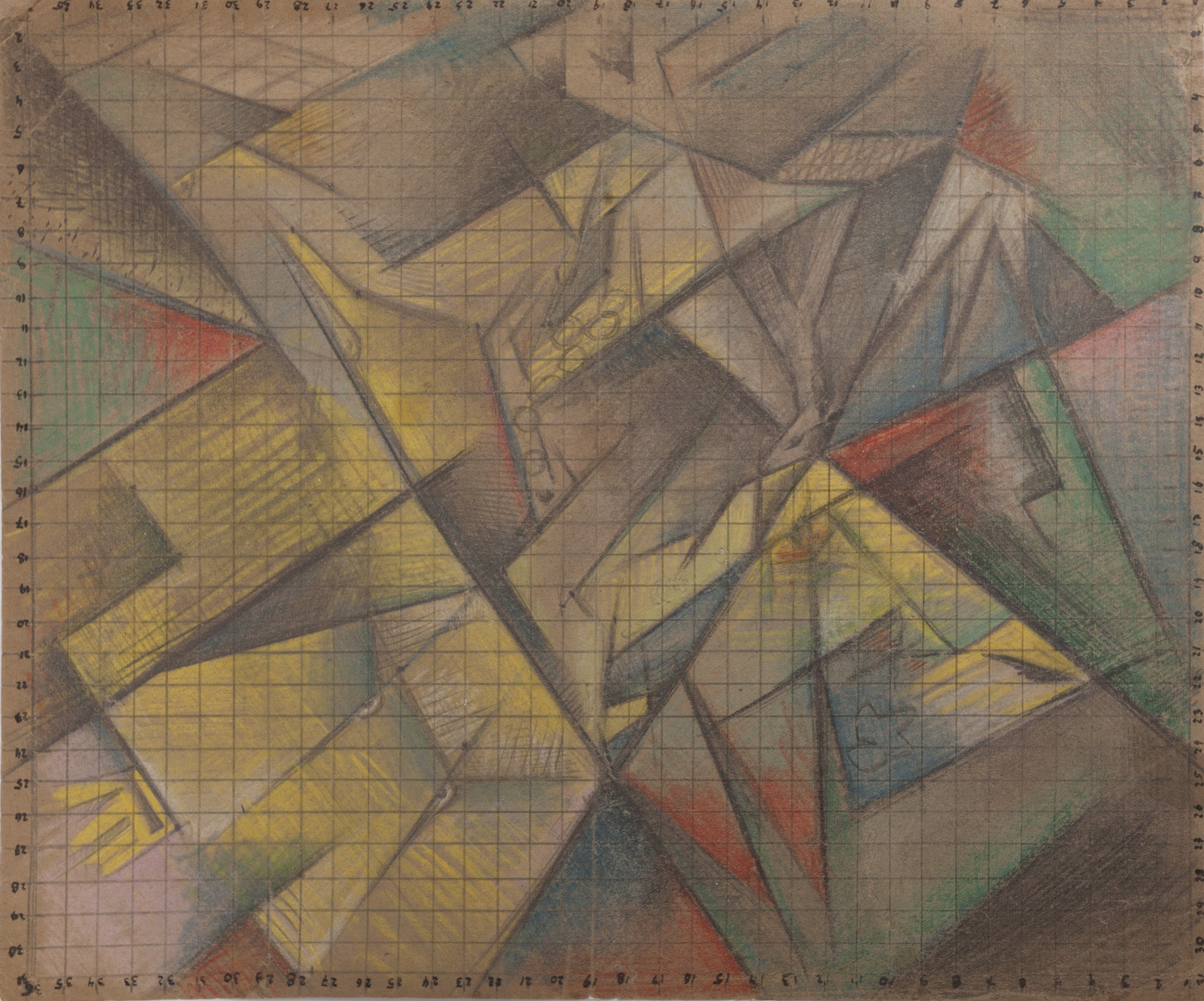 STANISŁAW KUBICKI (1889 - 1942), KOMPOZYCJA Z GŁOWAMI ZWIERZĄT