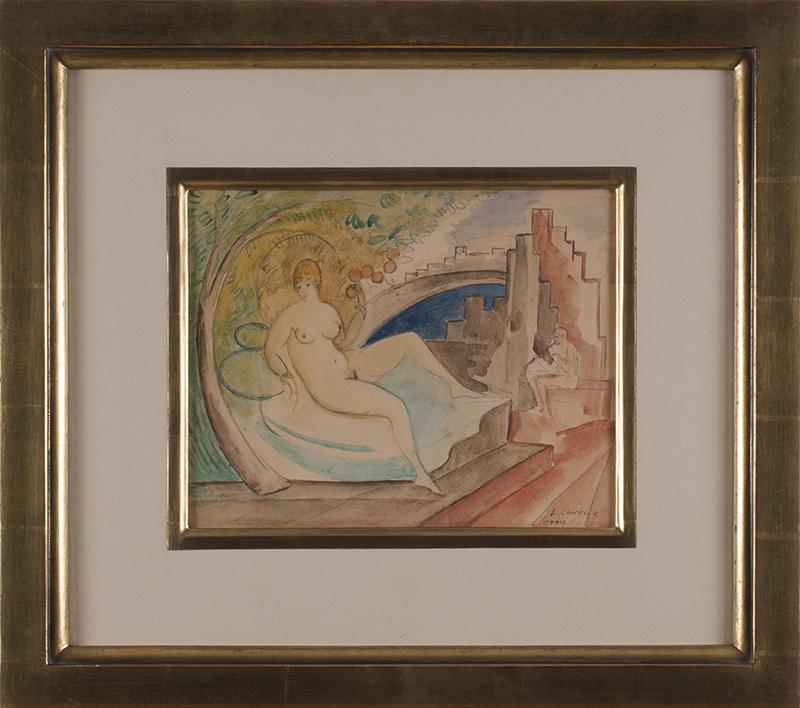 CHWISTEK LEON (1884 - 1944), ZALOTY, 1929