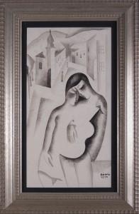 KADAR BELA (1877 - 1955), SERENADA, OK. 1925