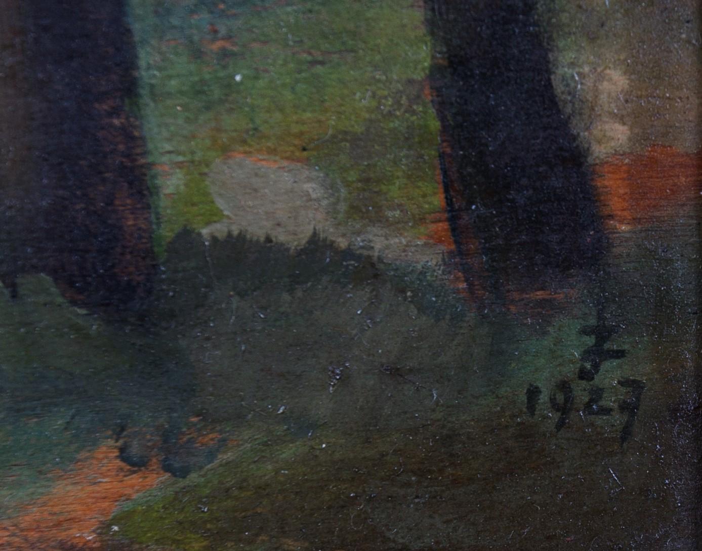 ZAMOYSKI JAN (1901 KAZIMIERZA WIELKA - 1986 WARSZAWA), RZUCEWO, 1927