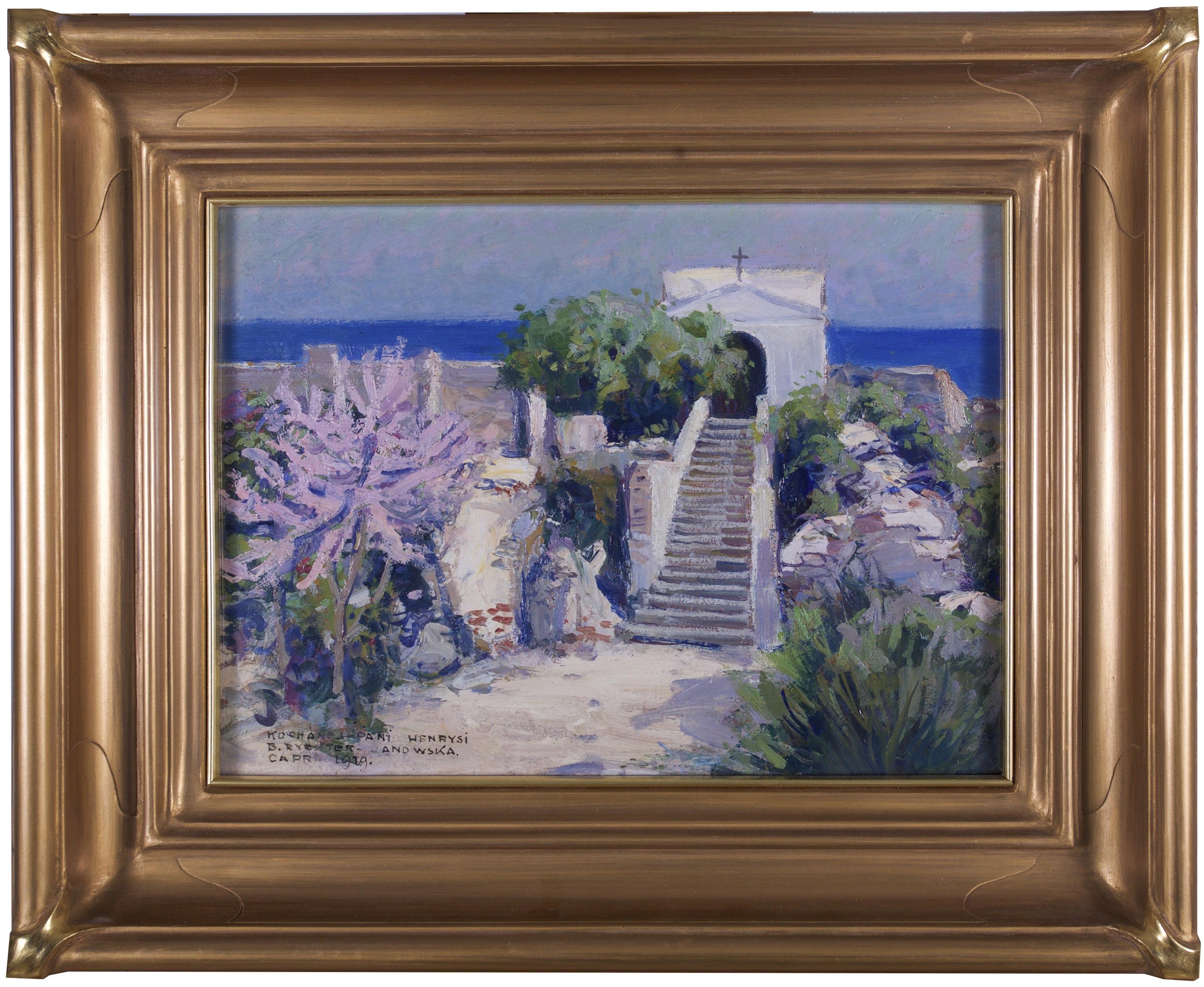Rychter - Janowska Bronisława (1868 - 1953), Pejzaż z Capri, 1919 r.