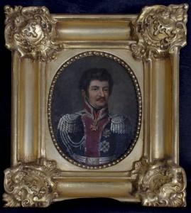 PORTRET JÓZEFA PONIATOWSKIEGO, 1 poł. XIX w.