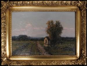 KORECKI Wiktor (1890-1980)  Przydrożna kapliczka