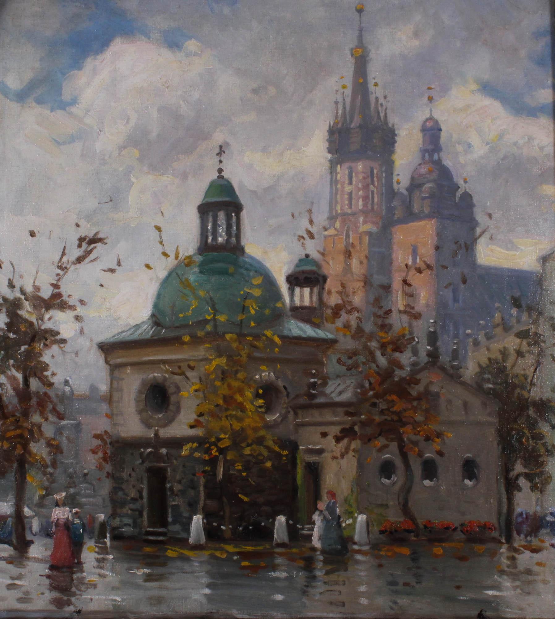 SERAFIN Włodzimierz (1905 - ?), KAPLICA ZYGMUNTOWSKA W KRAKOWIE