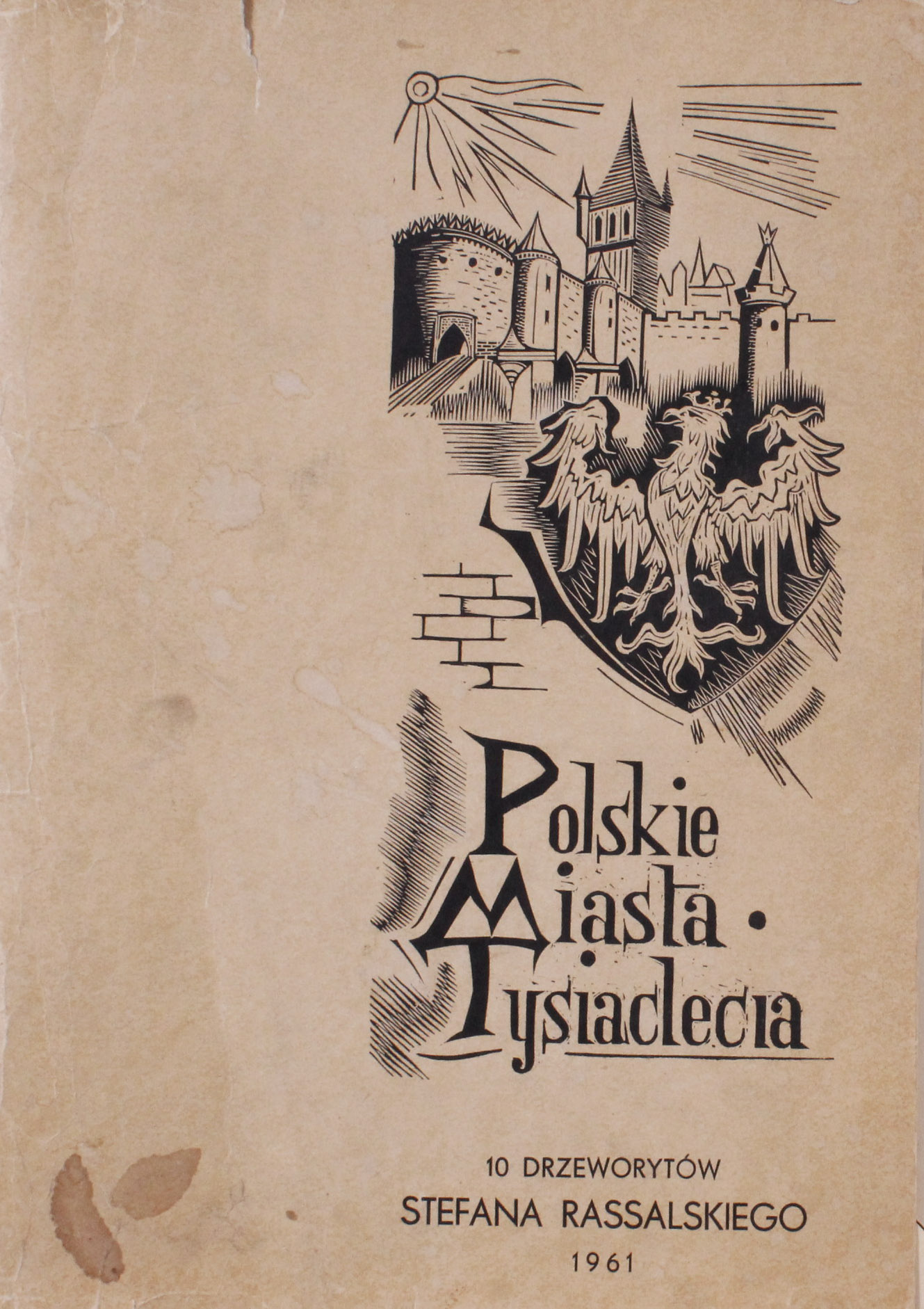 RASSALSKI Stefan (1910 - 1972) GNIEZNO-KATEDRA Z TEKI