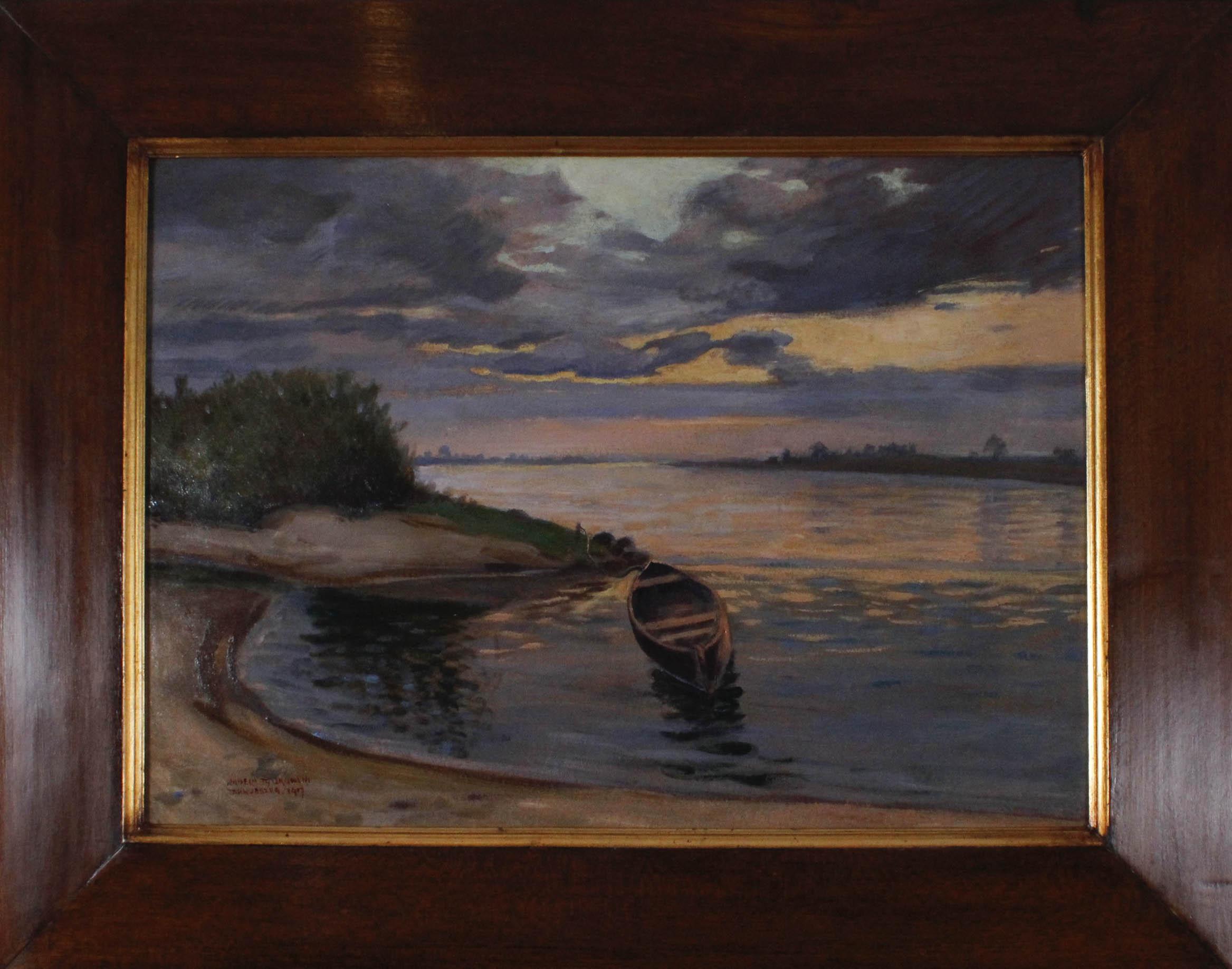 TYSZKOWSKI Wilhelm (1878 Raj - 1939 Piaśnica) Zmierzch , 1917