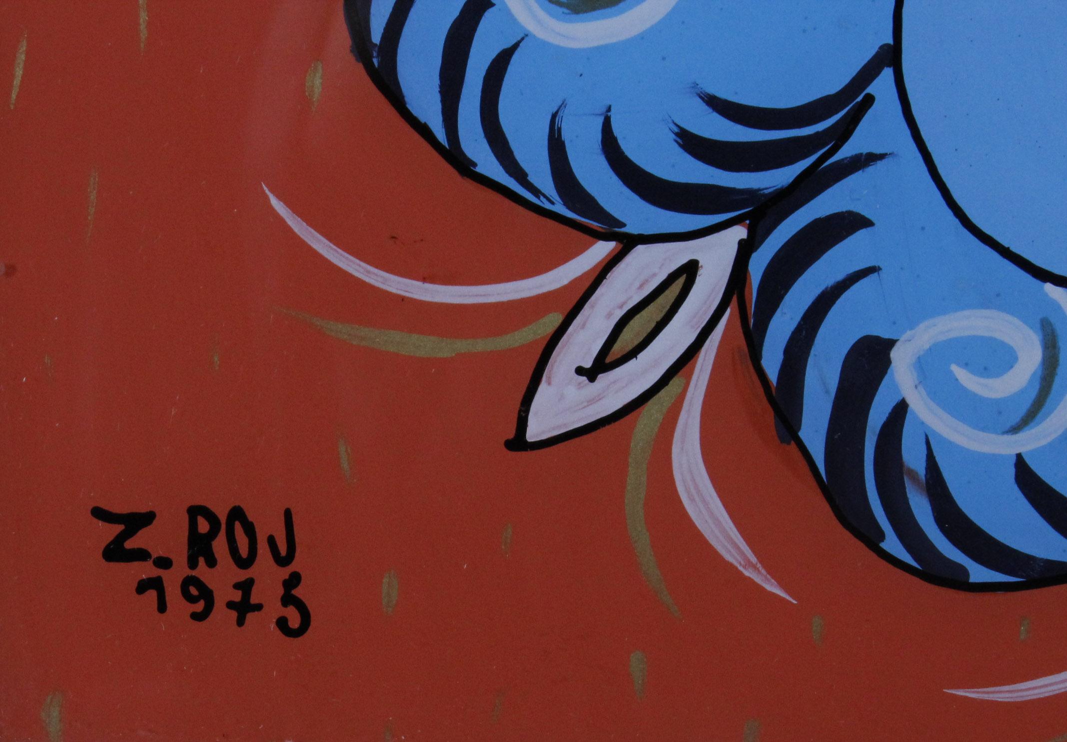 ROJ-GĄSIENICA Zofia MATKA BOSKA Z DZIECIĄTKIEM , 1975