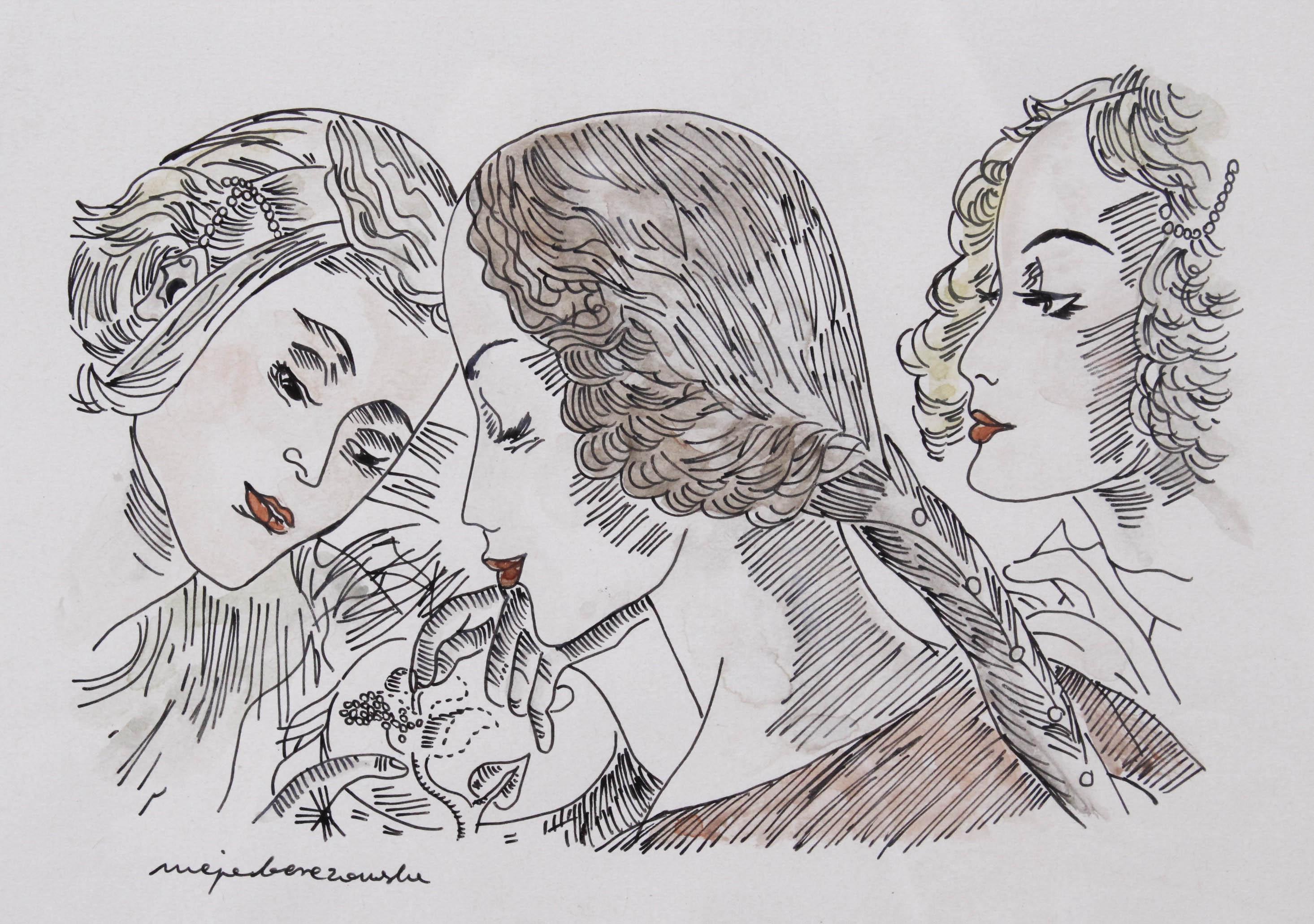 BEREZOWSKA Maja (1898 - 1978) WYSZYWANIE