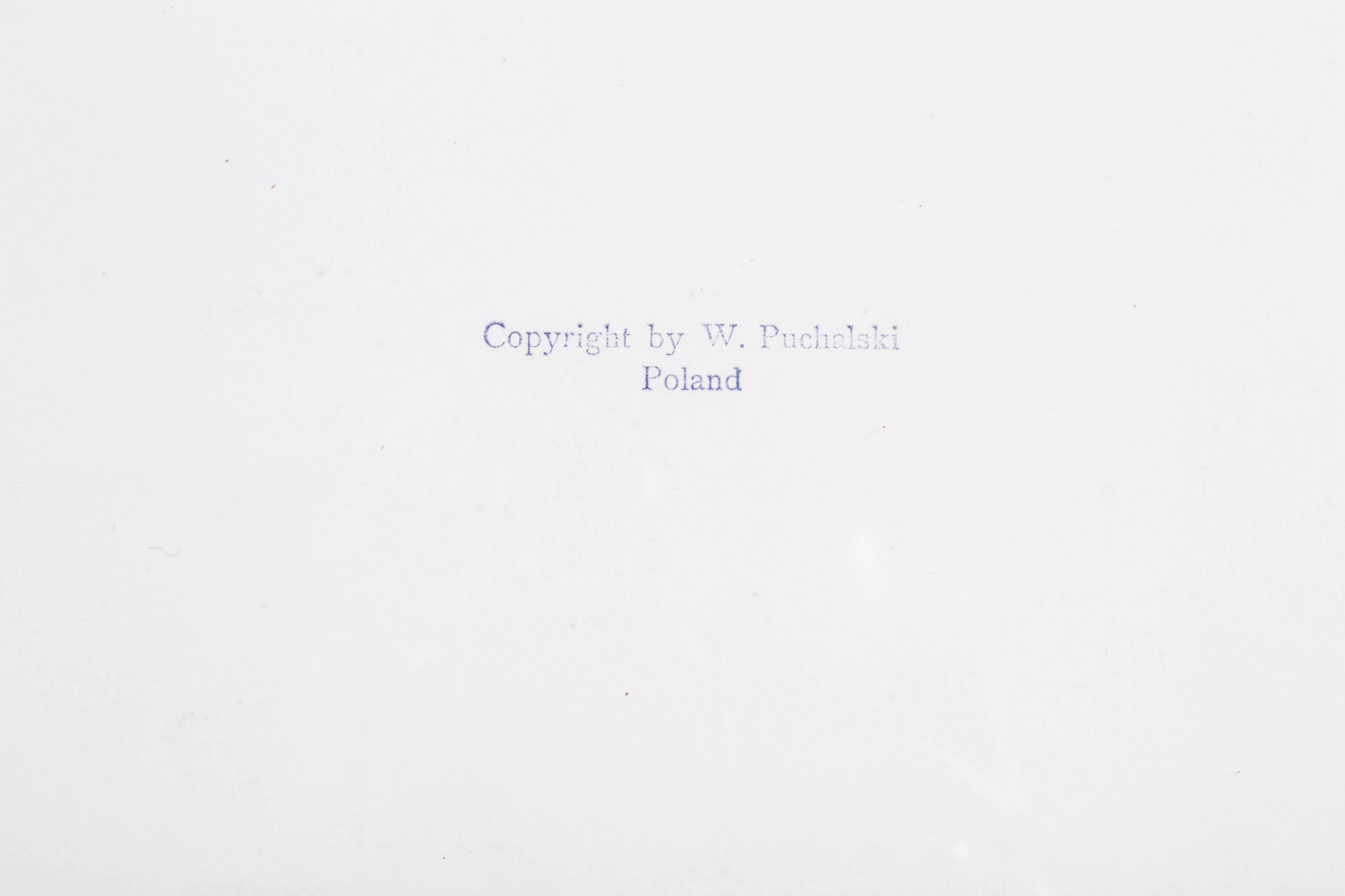 PUCHALSKI Włodzimierz (1909 Most Wielkie k. Lwowa - 1979 Wyspa Króla Jerzego) MŁODE BĄKI