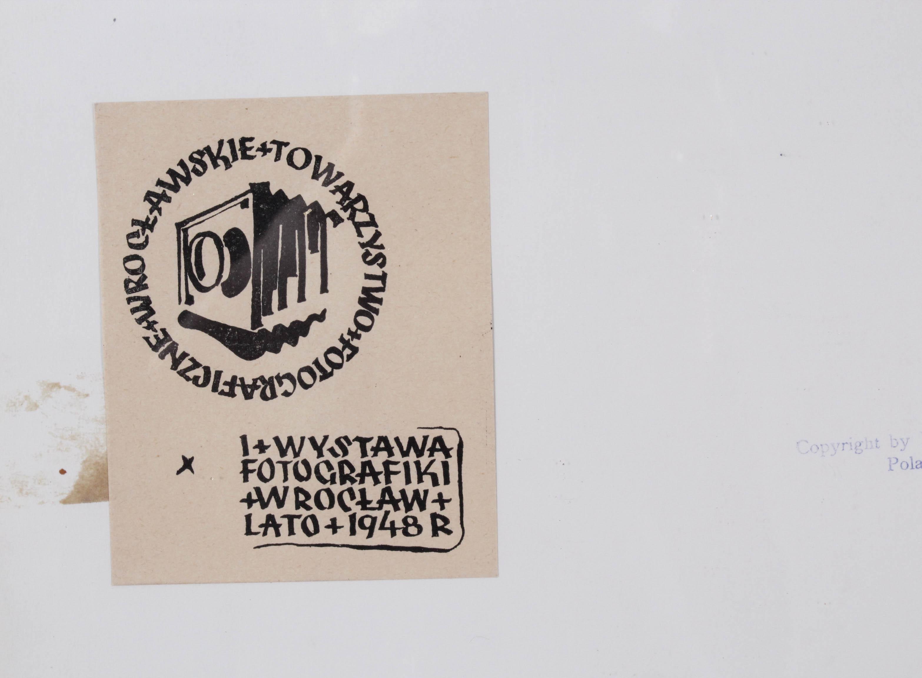 PUCHALSKI Włodzimierz (1909 Most Wielkie k. Lwowa - 1979 Wyspa Króla Jerzego) SŁOWIK I ŻABKA