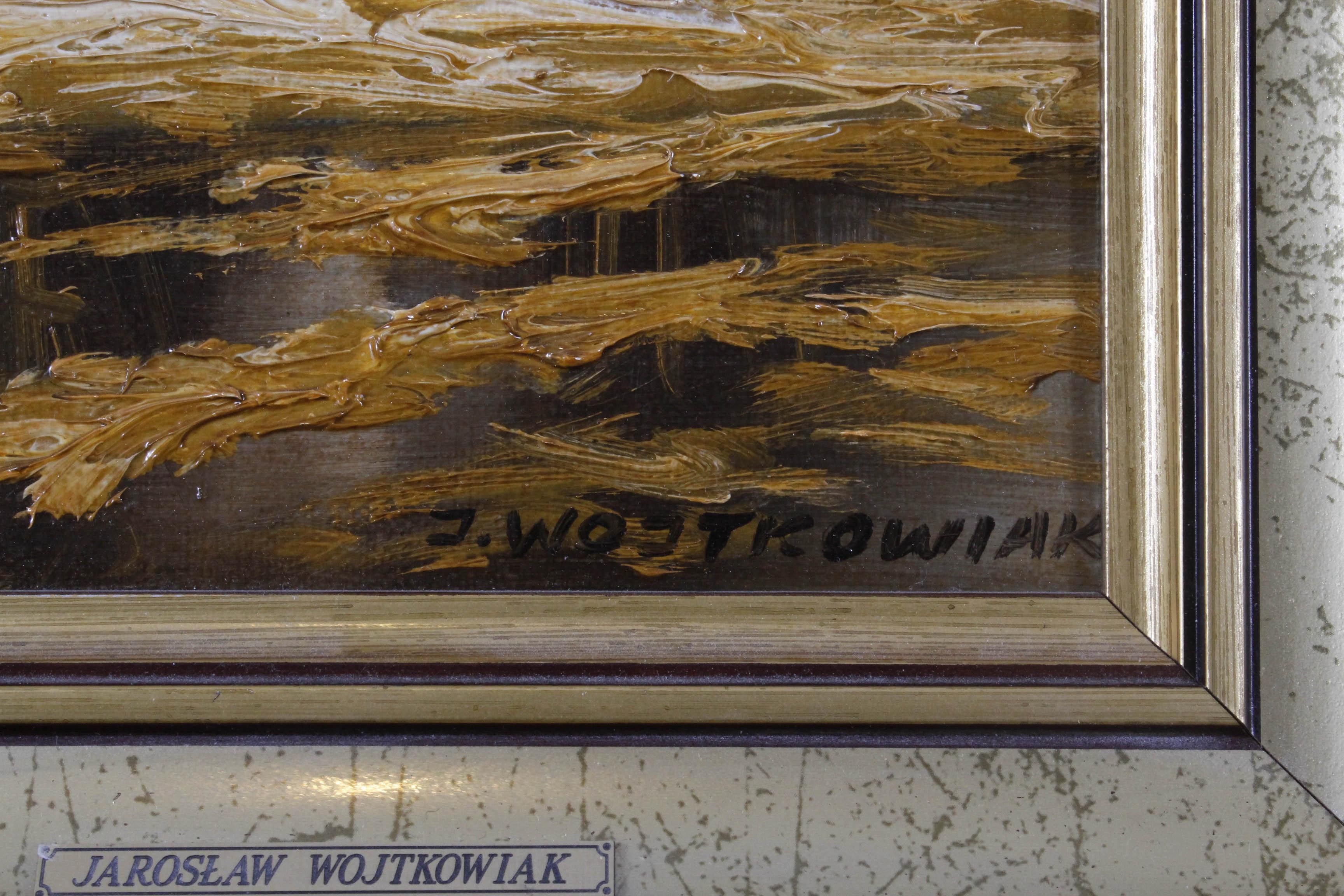 WOJTKOWIAK Jarosław (ur. 1952, Łódź) WIEJSKA ZAGRODA