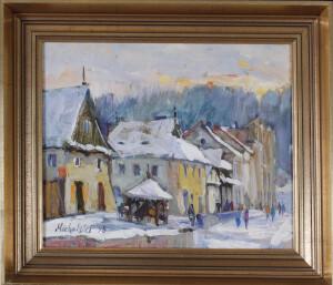 MICHALSKI Krzysztof PEJZAŻ ZIMOWY , 1995