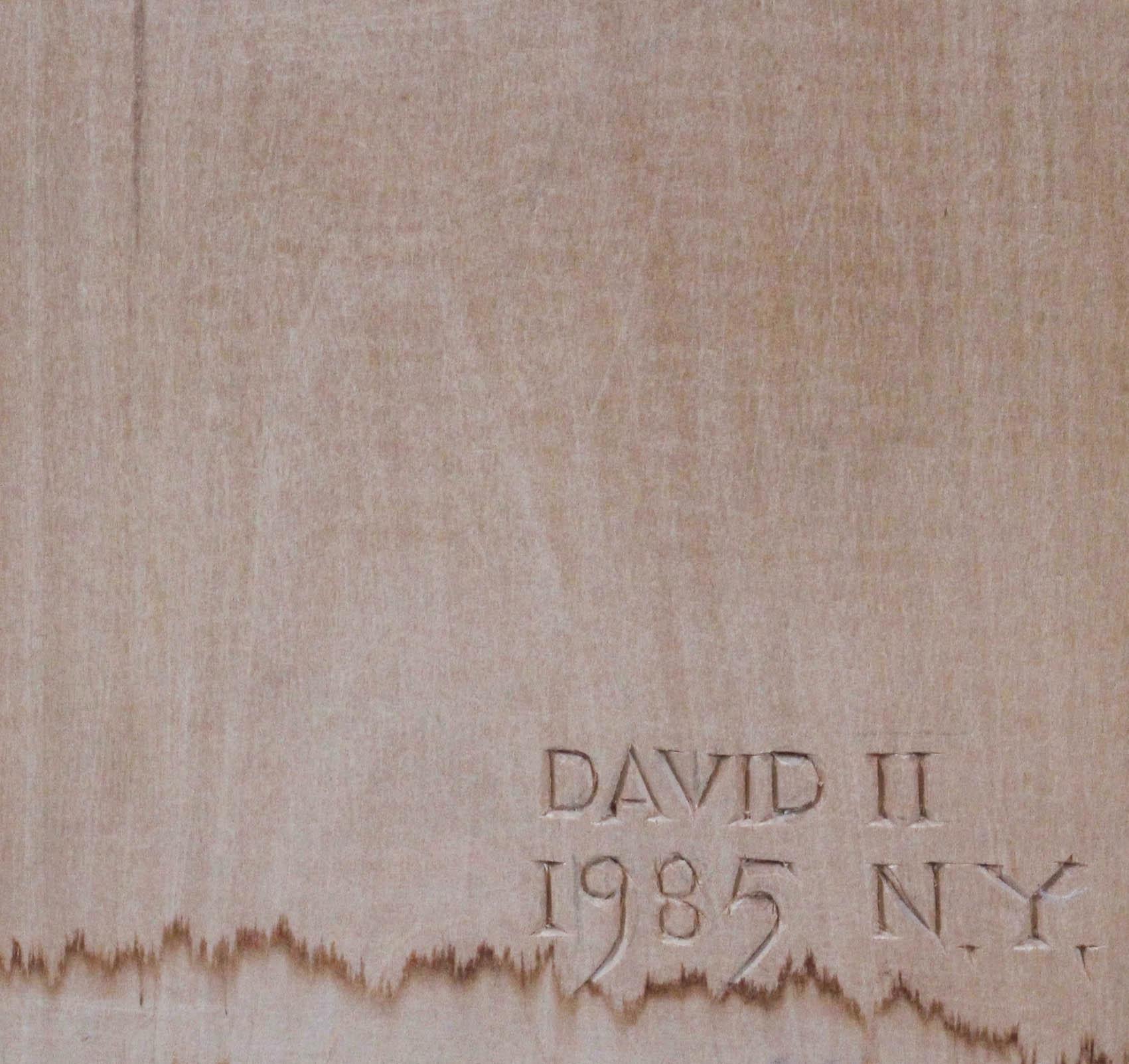 KURACIŃSKI Jan Dawid (ur. 1941, Mierzanowice) PROBLEM , 1985